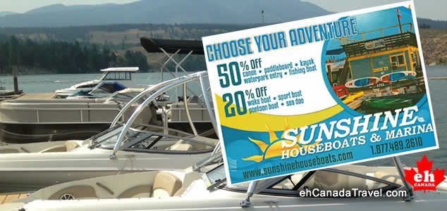WIN a Lake Koocanusa Adventure Coupon from Sunshine Houseboats, Cranbrook, BC. Summary: Winner will enjoy a Lake KooCanUsa Adventure with Sunshine Houseboats in Cranbrook, BC, Canada. You could win 50% Off a canoe, […]