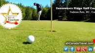 "Salmon Arm, BC Golf Course Golfing with Sonseekers Golf Course Recently the ""eh Team"" Brothers of Greg and Colin Girard were invited recently to test their drive, chip and putting skills at Sonseekers […]"