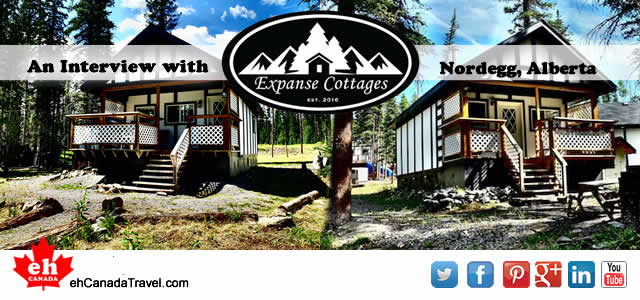 "Interview – Expanse Cottages, Nordegg, Alberta ""Where Wilderness Meets Your Vacation"" ""Nordegg is known as the ""hidden gem"" of Alberta. It is surrounded by endless beautiful scenery, hundreds of hiking, biking, […]"