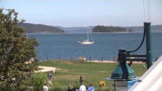 Sidney Waterfront Inn & Suites, Sidney BC, Salish Sea summer time