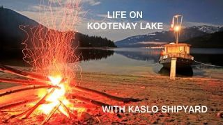 Life on Kootenay Lake with Kaslo Shipyard Houseboats