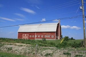 Red Barns of the Prairies