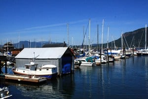 Boats and Marinas in Cowichan Bay, BC