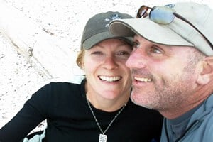 Brad Armstrong and Katharine Palmer of Kelp Reef Adventures