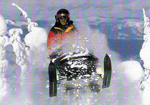 Snowmobiling Born and Raised in Canada