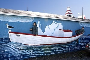 """Icebergs and Fishing"" located in Twillingate, Newfoundland, Ontario"