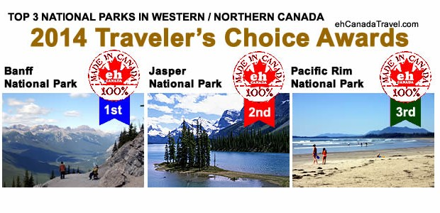 Sharing is Canadian!Facebook40Twitter0Google+5Pinterest045sharesTOP 3 NATIONAL PARKS IN CANADA 2014 Traveler's Choice Awards Top 3 Most Visited Parks in Western / Northern Canada  Back to 2014 Traveler's Choice Award Winners National […]