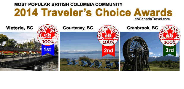 Sharing is Canadian!Facebook43Twitter0Google+3Pinterest046shares2014 Traveler's Choice Awards The 2014 MOST POPULAR TRAVEL and ADVENTURE DESTINATIONS in WESTERN / NORTHERN CANADA as SELECTED by OVER 2+ MILLION ONLINE TRAVELERS on the ehCANADATRAVEL.com […]