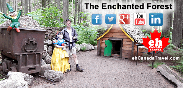 "Sharing is Canadian!Facebook0Twitter0Google+7Pinterest18sharesCreate Fairy Tales with The Enchanted Forest ""The Enchanted Forest is no ordinary forest. No, this forest attraction is writing real life fairy tale stories thus creating a […]"