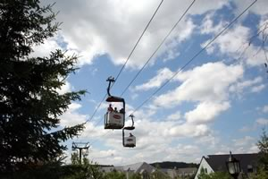 Gondola on Mount Tremblant