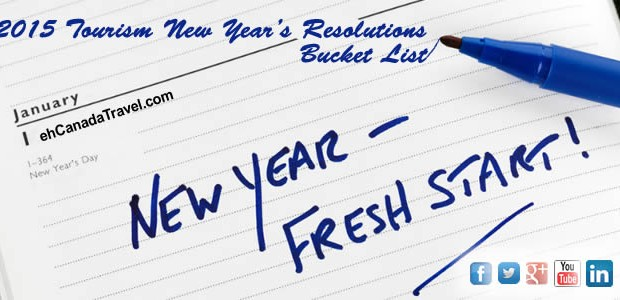 2015 Tourism New Year's Resolutions Bucket List Every year millions of people sit themselves down and write out their list of New Year's Resolutions. Unfortunately, within the first month many […]