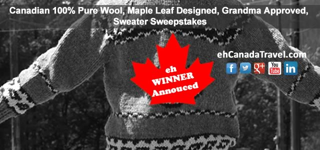 New Brunswick Winner of Sweater Sweepstakes