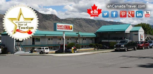 "Kamloops B.C. Scott's Inn and Restaurant ""Its easy to see that Scott's Inn is a believer in first impressions."" This is a ""Stars of Tourism"" Promotion Click to View Scott's Inn and Restaurant […]"