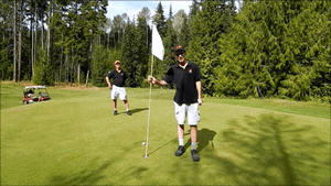 Salmon Arm, BC, Golf Course
