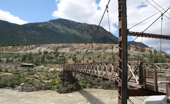 Old bridge in Lillooet