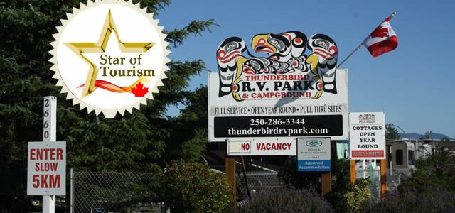 """Campbell River Campground Thunderbird RV Campground and Cottages """"We have stayed here on numerous occasions and have nothing but good things to say about our hosts and their facilities."""" There […]"""