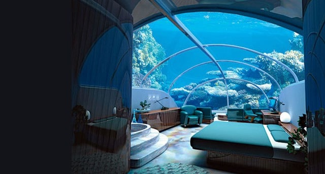 Istanbul's 7-Story Underwater Hotel