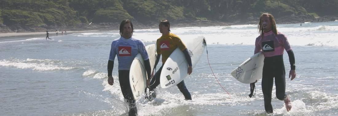 Surfing British Columbia