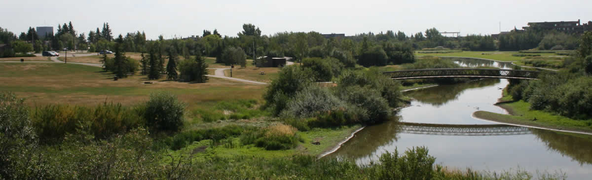 Bear Creek Dog Park Grande Prairie