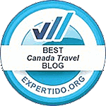Best Canadian Travel Blog Award