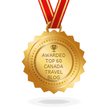 Ranked #4 Top 100 Canadian Travel Bloggers BlogSpot