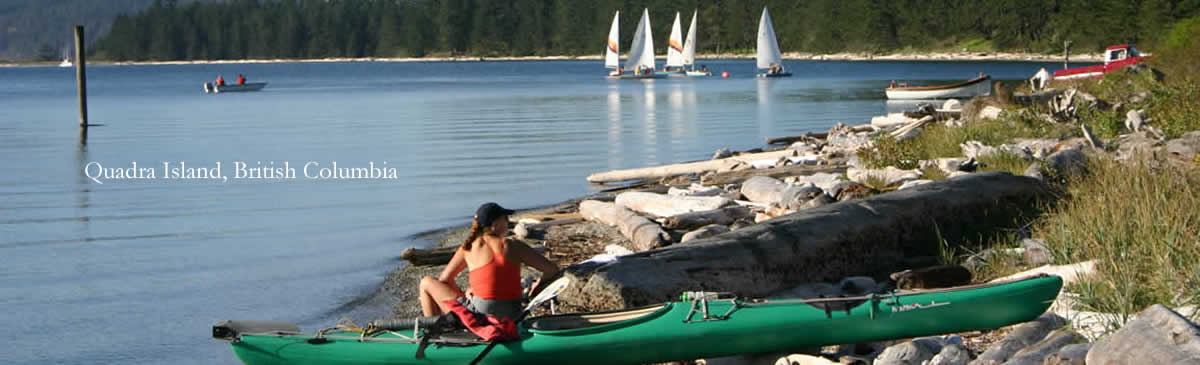 Kayaking the Gulf Islands