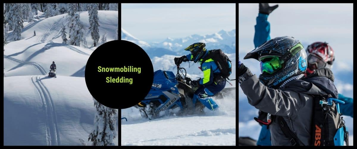 canada snowmobiling sledding tours