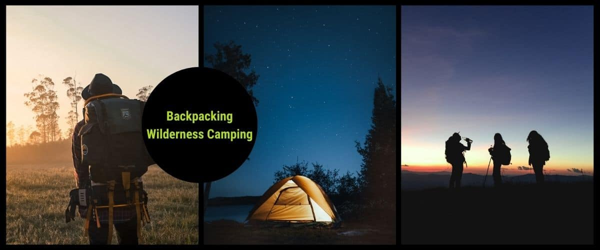 canada backpacking camping