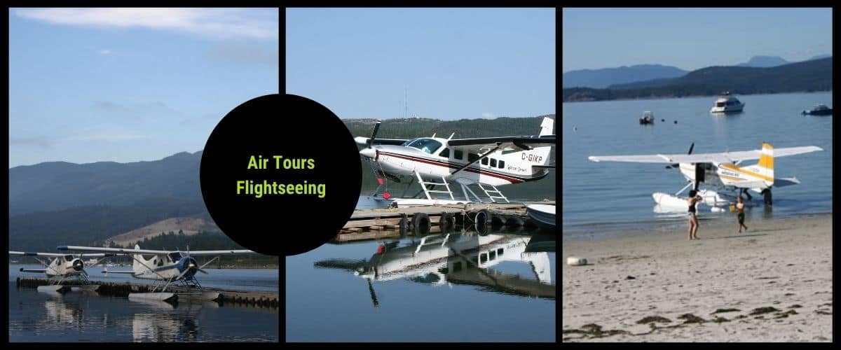 flightseeing and air tours in canada