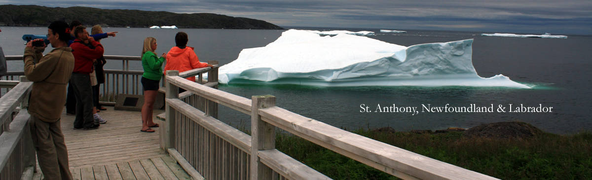 Iceburg in St Anthony,  Newfoundland