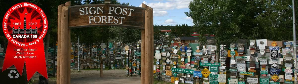 Go for a Hike in the Signpost Forest
