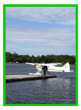 Float plane tours and transportation in the North
