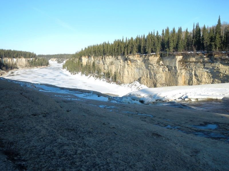 Was the most beautiful thing to just walk up to. Straight out of the movies<br />Twin Falls Gorge, NWT