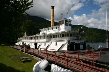 SS Moyie National Historic Site, Kaslo