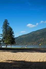 Shale beach cultus lake