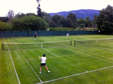 Tennis on Vancouver Island