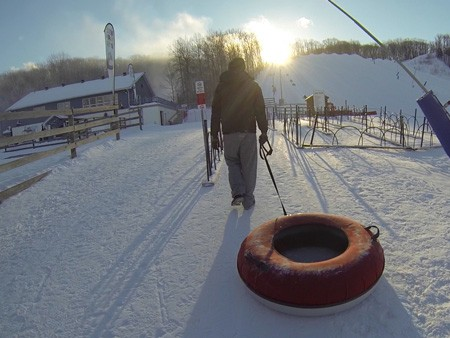 Snowtubing at Ski Snow Valley