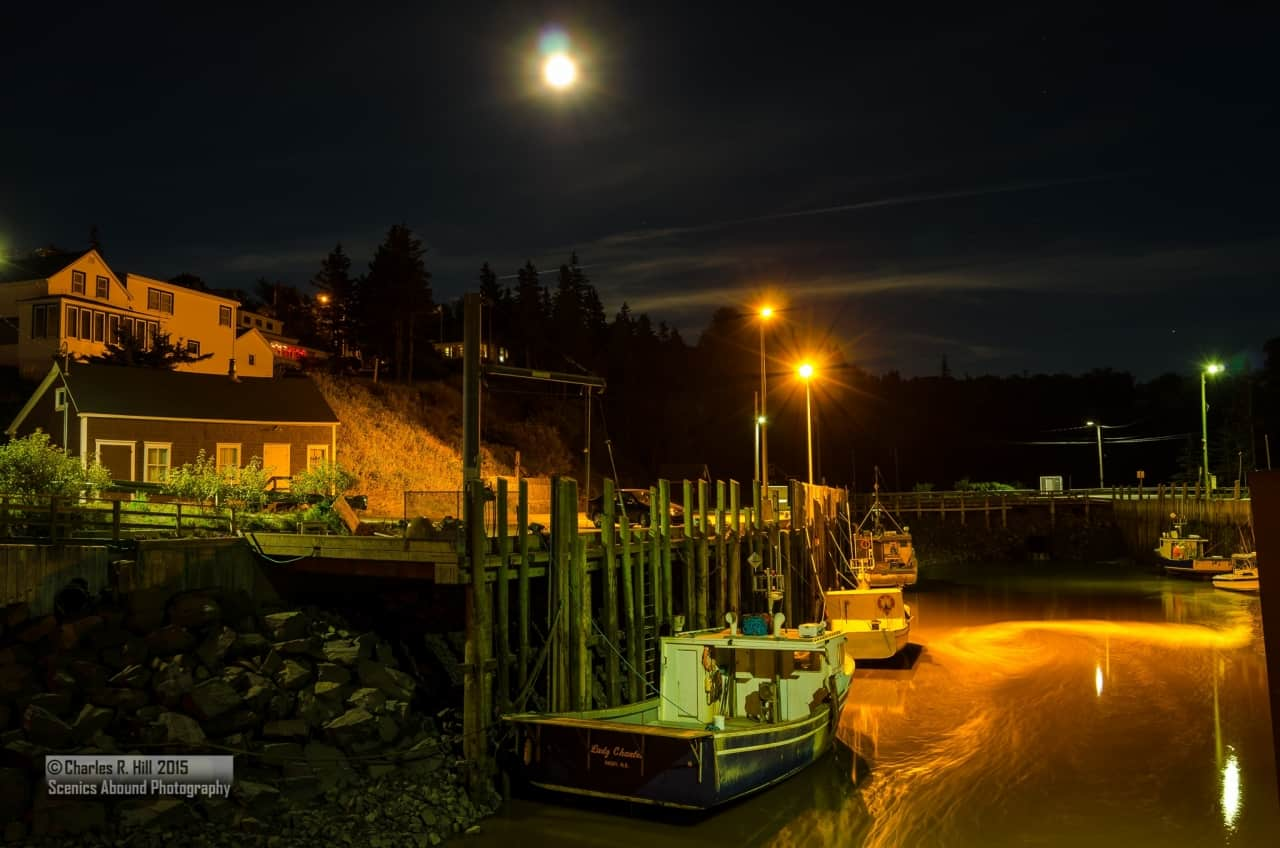 10b2ff3fc1eca2cbb96f8315.jpg - Halls Harbour at night with a beautiful incoming tide.<br />by @Scenics_Abound<br />For photography workshop info <br /> ScenicsAboundPhotography@gmail.com