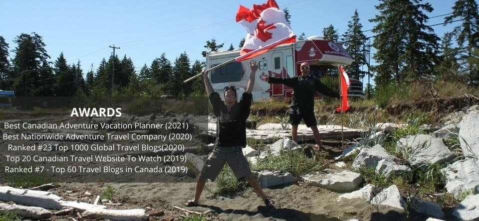 Awards_ Best Canadian Adventure Vacation Planner (2021) - Best Nationwide Adventure Travel Company (2020) Ranked #23 Top 1000 Global Travel Blogs(2020) Top 20 Canadian Travel Website To Watch (2019) Ranked #7 - Top.jpg