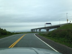 9a166ff4ff431ec45ac3cc6c.jpg - Confederation bridge on the New Brunswick side - Across Canada in search of #BIGselfies trip 2014